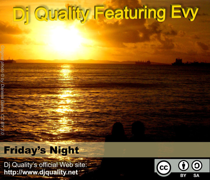 Dj Quality Featuring Evy - Friday's Night - Front Cover