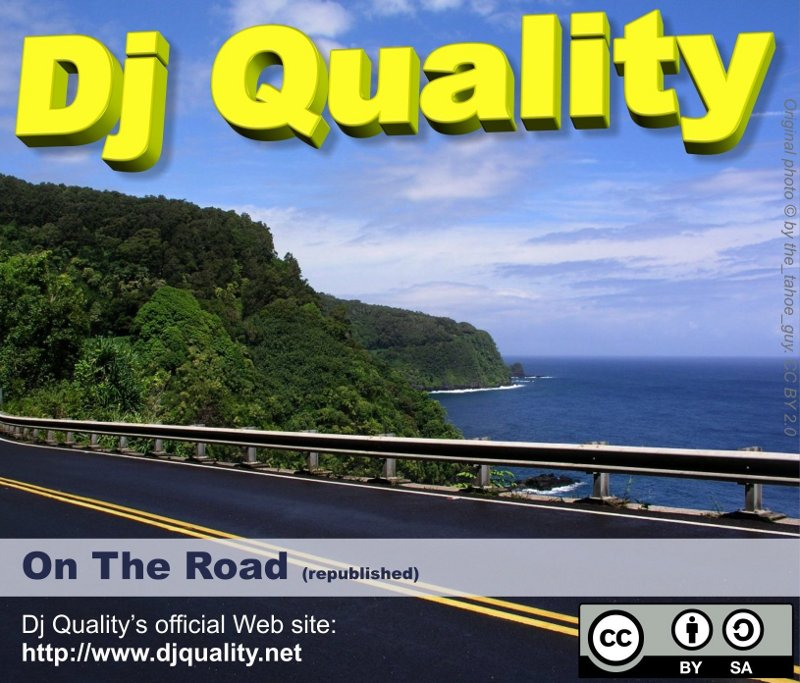 Dj Quality - On The Road (republished) - Front Cover