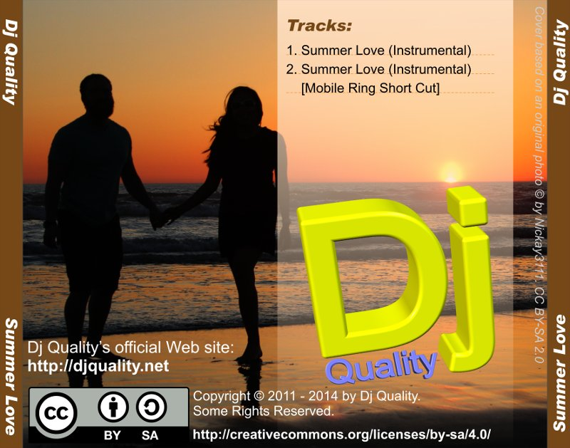 Dj Quality - Summer Love - Back Cover